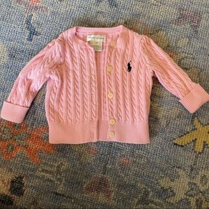 Ralph Lauren cable knit sweater.. like new